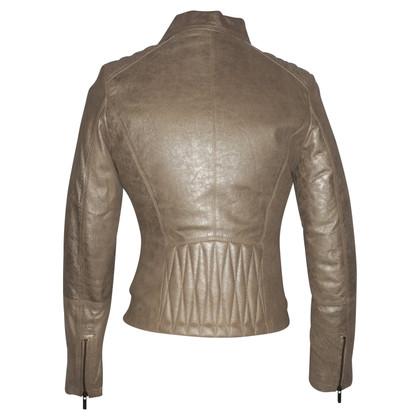 Arma leather jacket