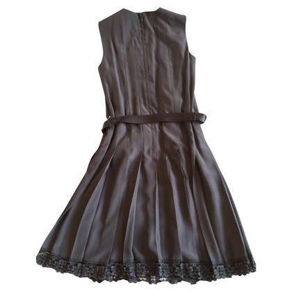 Marc Jacobs Pleated purple dress with 4 UK lace