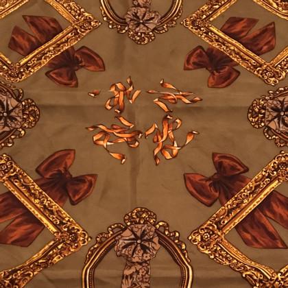 Karl Lagerfeld foulard de soie