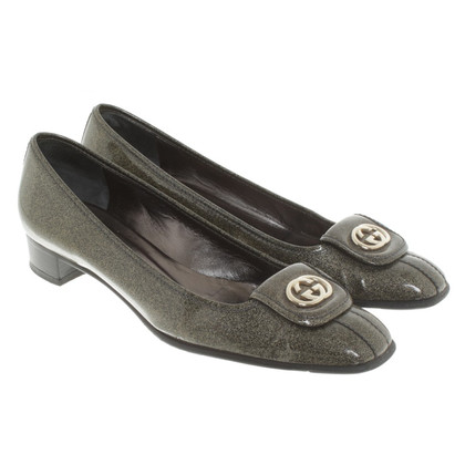 Gucci Ballerina's in Gray