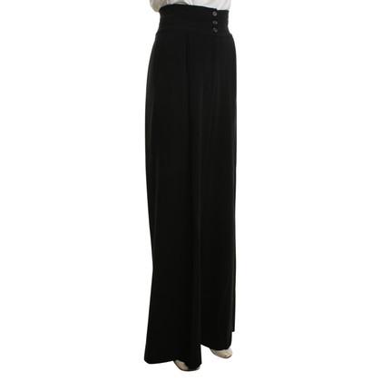 Yves Saint Laurent Width trousers in black
