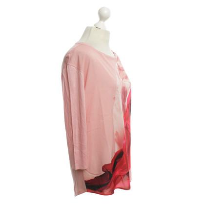 Escada shirt à manches longues avec imprimé
