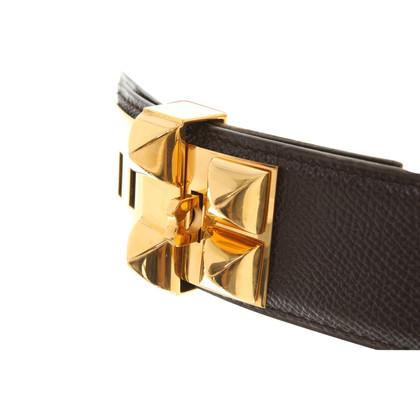 """Hermès """"Collier de Chien"""" Cintura in Brown"""