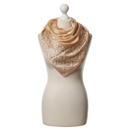 Armani Zijden sjaal in beige
