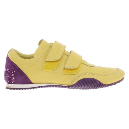 Richmond Sneakers in yellow / purple
