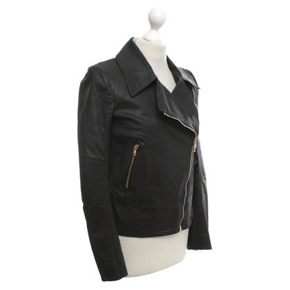 Gucci giacca da motociclista in nero