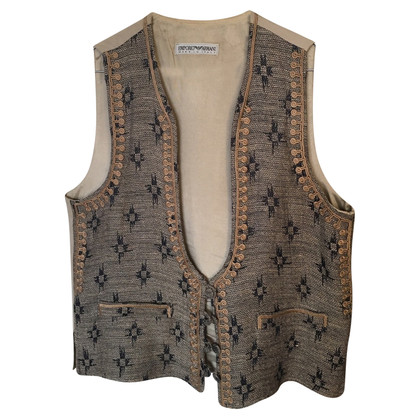 Armani Vest in linnen mix