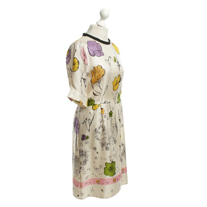 Marni for H&M Silk dress with pattern