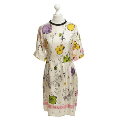 Marni for H&M zijden jurk met patroon