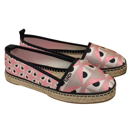 Fendi Monster espadrilles