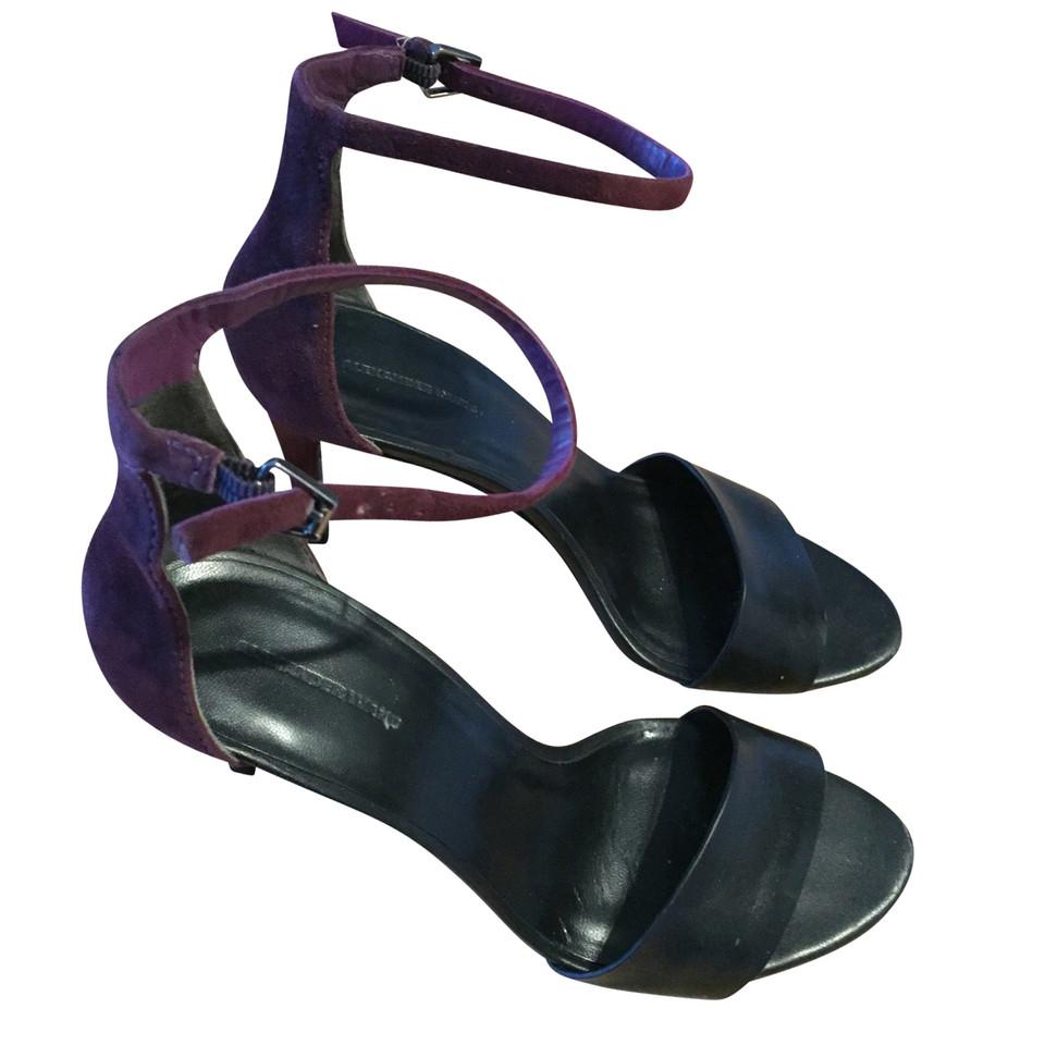 alexander wang sandaletten second hand alexander wang sandaletten gebraucht kaufen f r 130 00. Black Bedroom Furniture Sets. Home Design Ideas