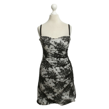 Dolce & Gabbana Lace Dress in Black / White