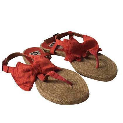 Lanvin Flip Flops