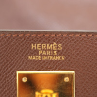 """Hermès """"Kelly Bag 32"""" in brown"""