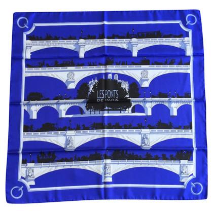"""Hermès silk carré scarf """"Les Ponts de Paris"""""""
