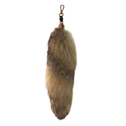Moschino Fuchsschwanz-Taschenanhänger