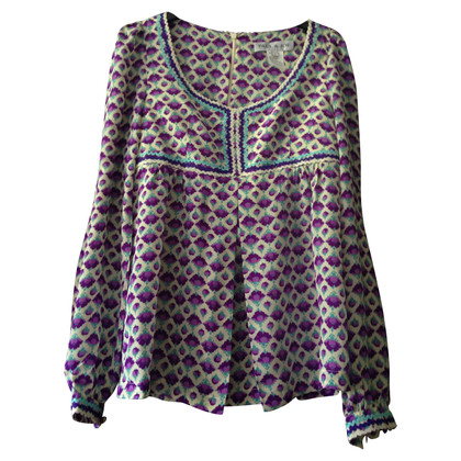 Paul & Joe Silk blouse with floral pattern