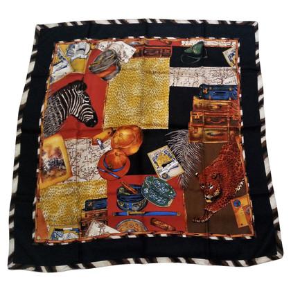 Bogner Silk scarf with print