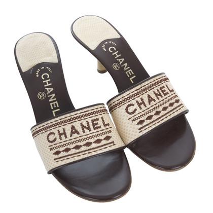 Chanel Pantoletten