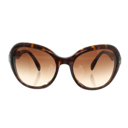 Prada Zonnebril in Brown
