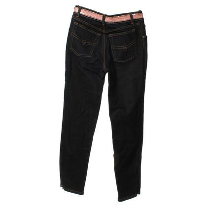 Blumarine Dark blue jeans