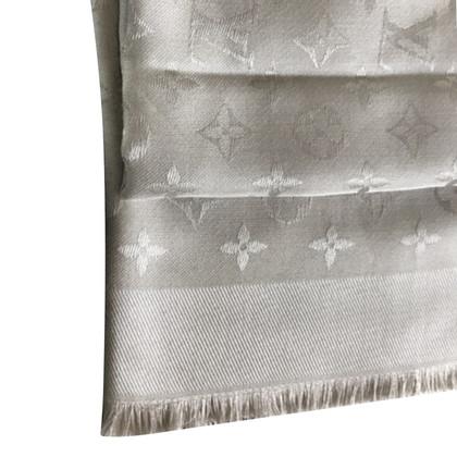 Louis Vuitton Monogram-Tuch in Hellgrau