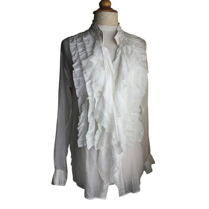 Dries van Noten Camicia misto seta