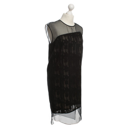 Helmut Lang Silk dress in black