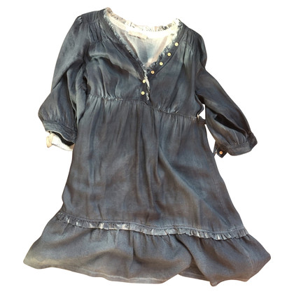 Stefanel Boho babydoll dress silk part