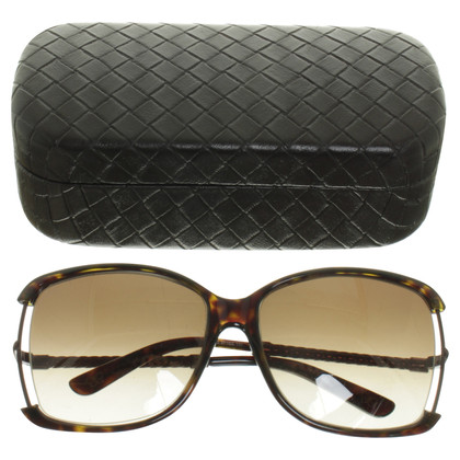 Bottega Veneta Sunglasses with Wicker-look