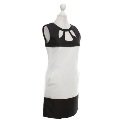 St. Emile Sheath dress in black and white