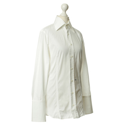 "Dsquared2 White blouse with ""Lady"" logo"