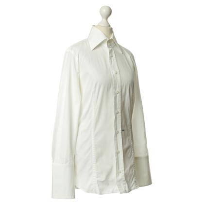 """Dsquared2 Weiße Bluse mit """"Lady"""" Schriftzug"""
