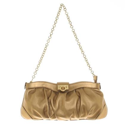Salvatore Ferragamo bag color oro