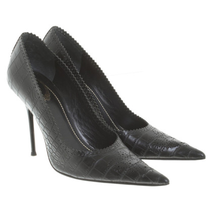 René Caovilla Pumps in Schwarz