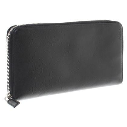 Prada Grote portemonnee in zwart