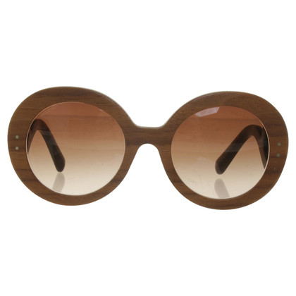 Prada Sunglasses made of wood