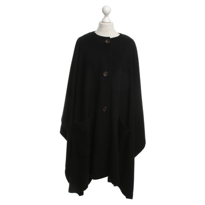 Jil Sander Cape in Black