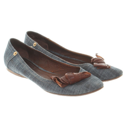 Miu Miu Ballerinas in jeans look