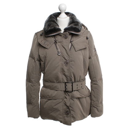Peuterey Down jacket with pile collar