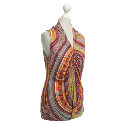 Etro top with colorful pattern
