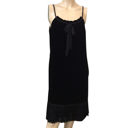 Diane von Furstenberg velvet dress
