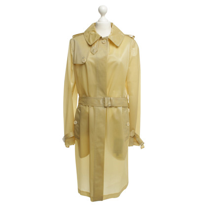 Alexander McQueen Coat in yellow