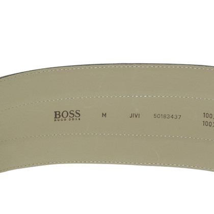 Hugo Boss riem antraciet