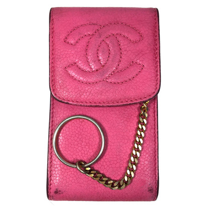 Chanel Holder leather