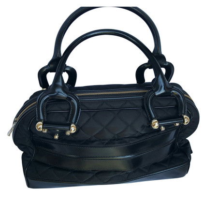 Burberry Black quilted handbag