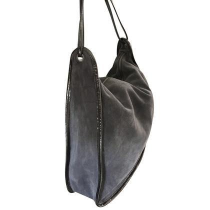 Maison Martin Margiela borsa della pelle scamosciata