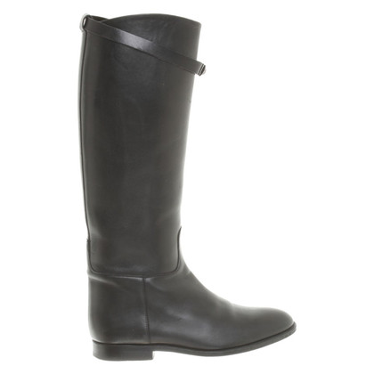 Hermès Laarzen in zwart