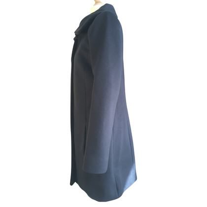 Patrizia Pepe Wollen jas in blauw
