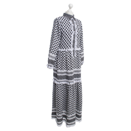 Dodo Bar Or Maxi dress with pattern mix
